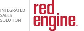 red engine logo w tag